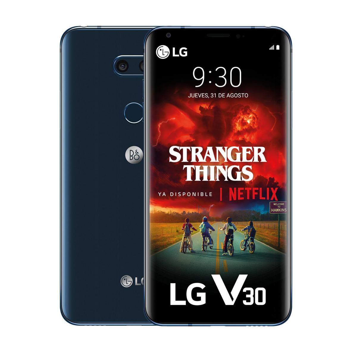 Descuentazo en LG V30 azul 64 GB + 4GB móvil libre