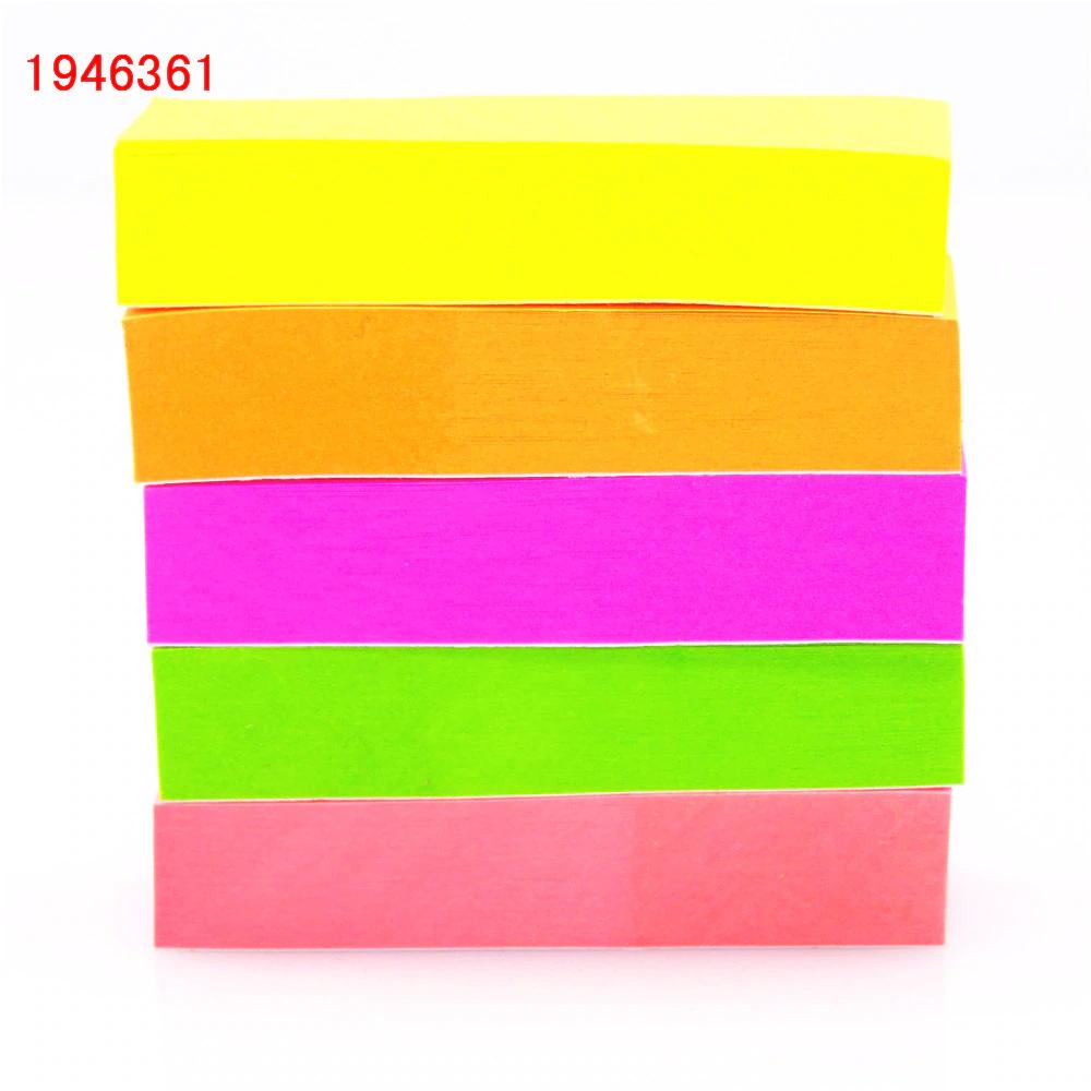 500 marcadores de página adhesivos de colores