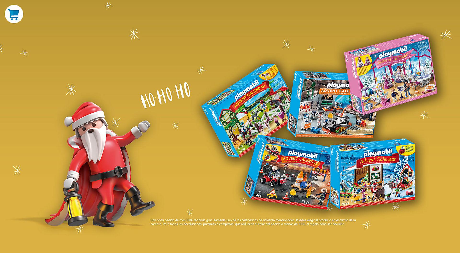 Calendario de adviento Playmobil gratis