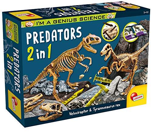 Lisciani Giochi – 77236 Juego para niños I'm a Genius Predators 2 en 1