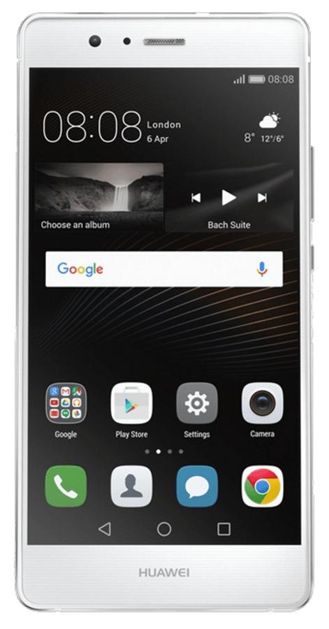 """Huawei P9 Lite, 16GB, Dual Sim, pantalla Full HD 5.2"""", 4G, 13 Mpx, Blanco"""