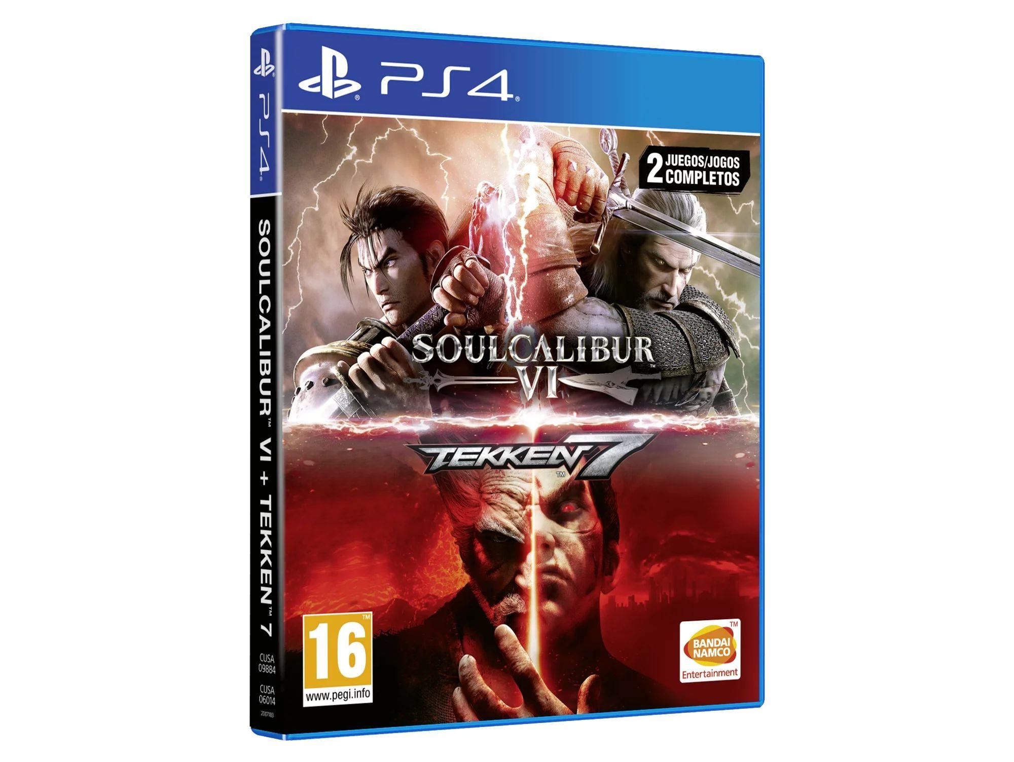 Preventa Juego PS4 Tekken 7 + Soulcalibur VI
