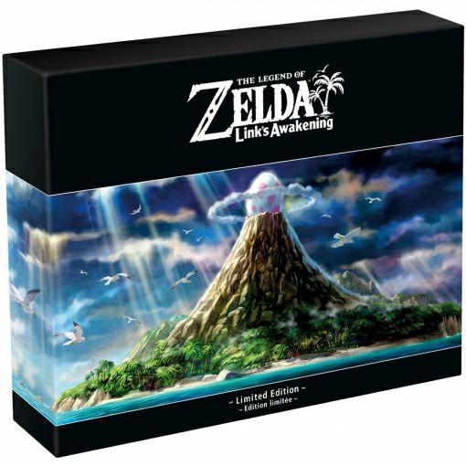 Zelda Link's Awakening Remake Edición Limitada para Nintendo Switch