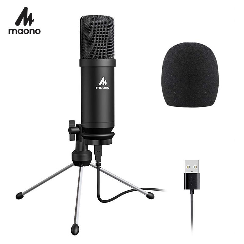 Microfono USB MAONO AU-A04TR el 11.11