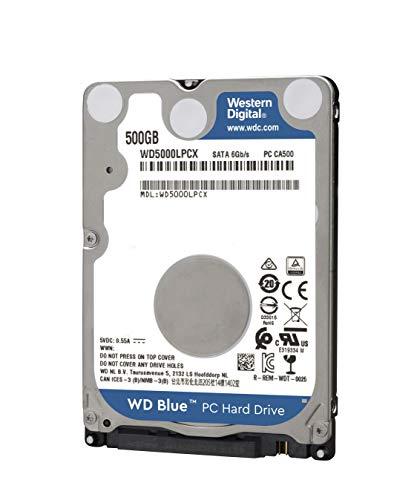 "WD Blue WD5000LPCX - Disco Duro de 2,5"" 500GB"