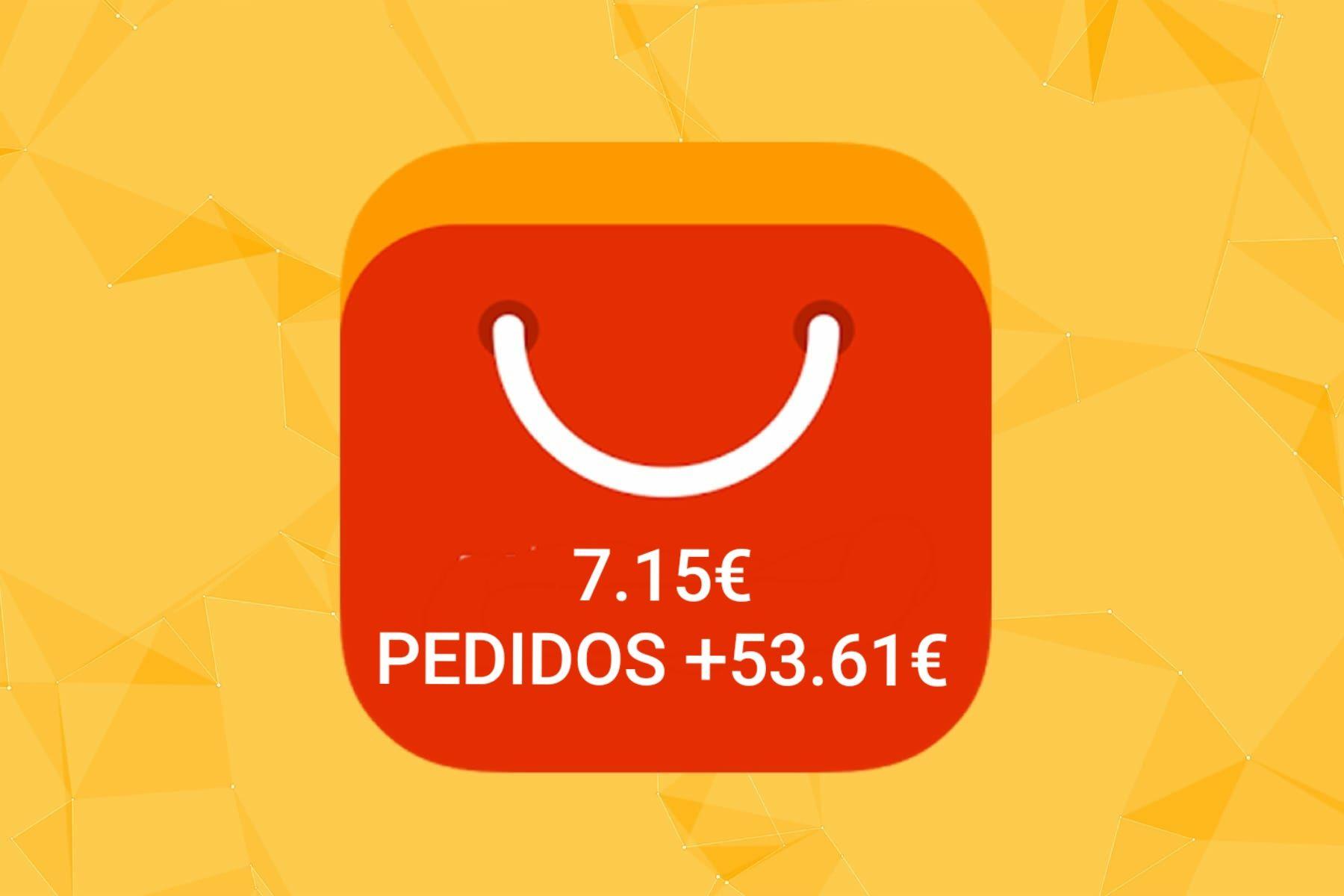 [11.11] Cupón de descuento de 7.15€ pedido +53.61€