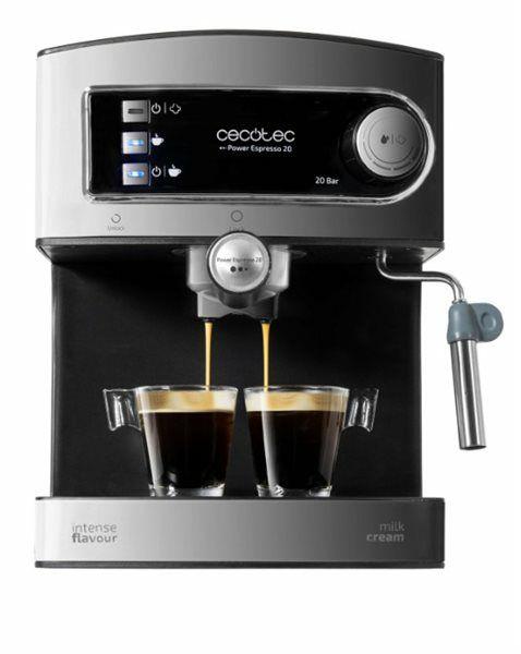 Cecotec 01503 - Cafetera express Power Espresso 20 de 1,5 litros 850W