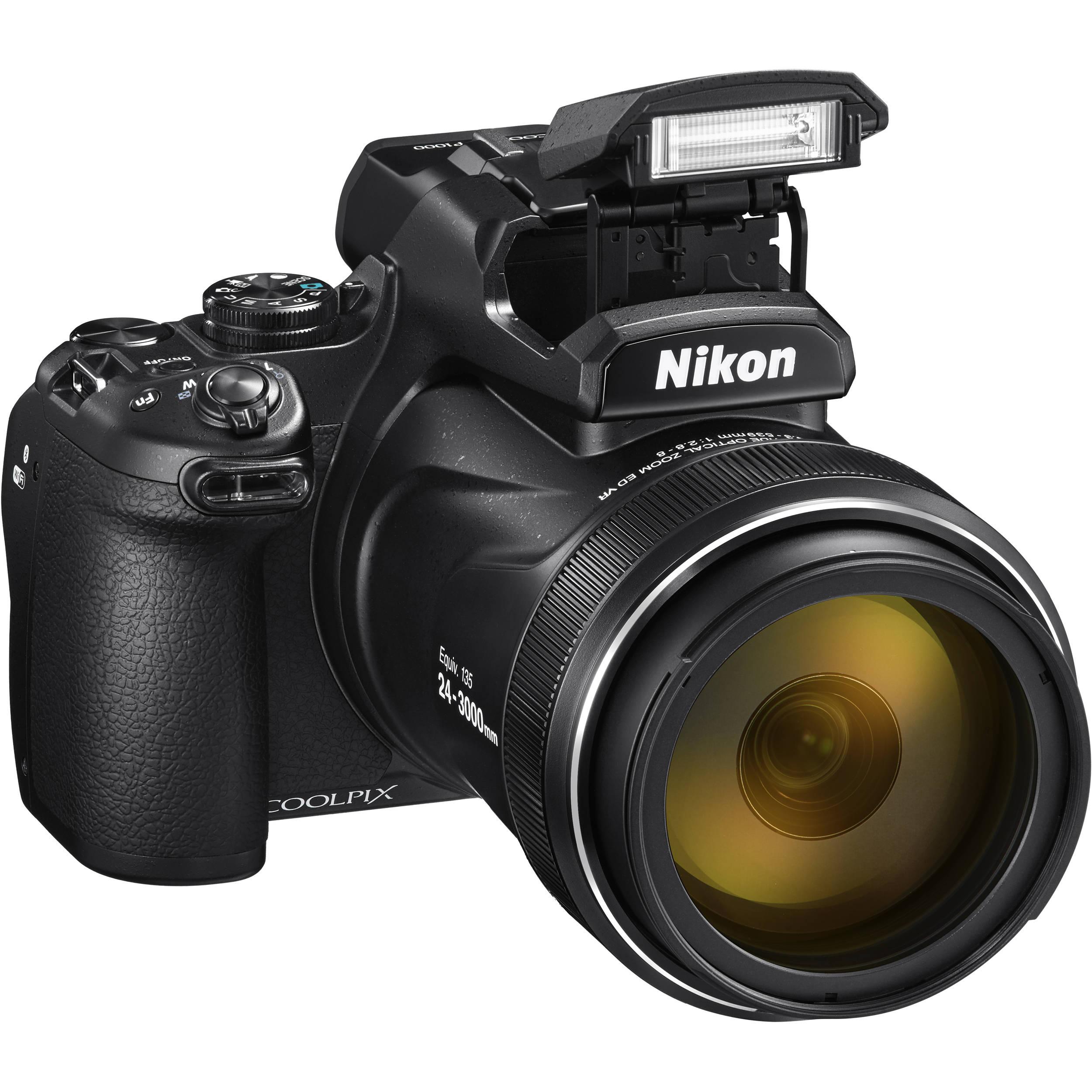 Nikon Coolpix P1000 Cámara Digital - Negro
