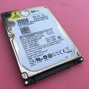 """3x320GB Western Digital HDD 2,5"""" 5400 RPM"""