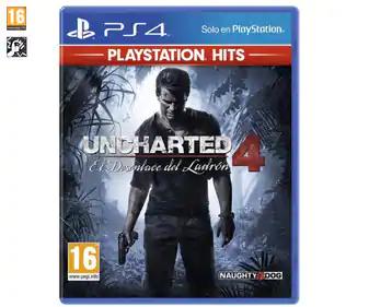 Uncharted 4, El Desenlace del Ladrón (PS4)
