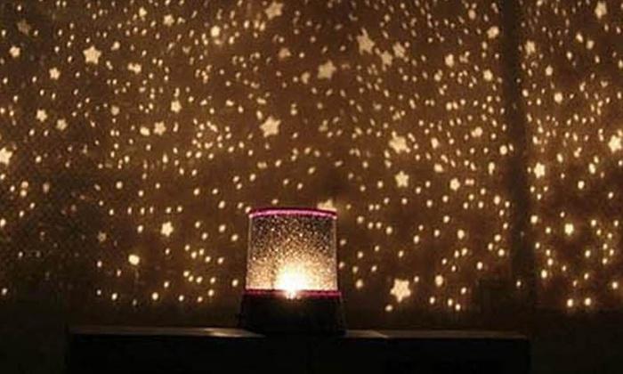 Proyector LED cielo estrellado