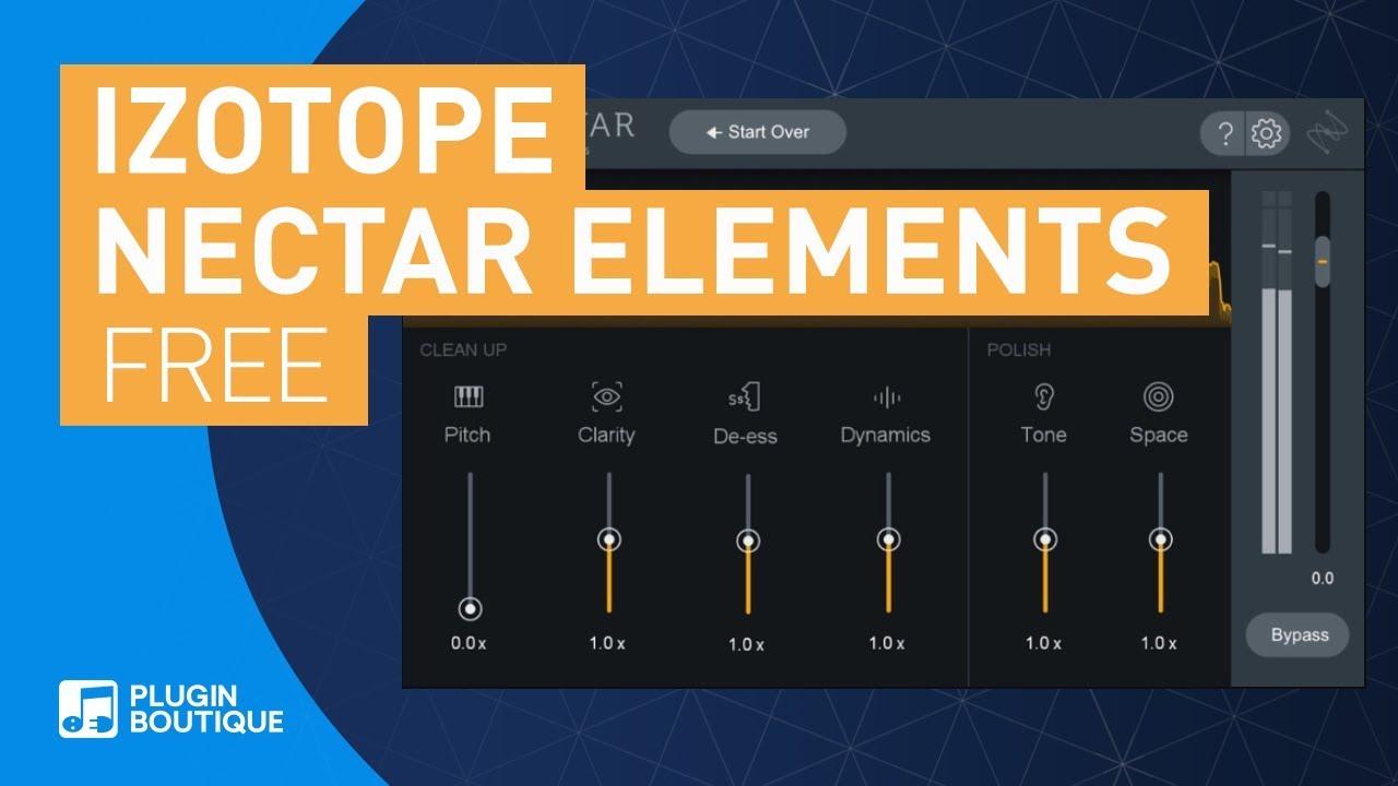 Izotope Nectar Elements Vst Plugin para voces Gratis con cualquier compra en Plugin Boutique