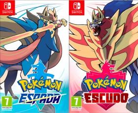 Pokemon Escudo/Espada Nintendo Switch + DLC Mochila dorada