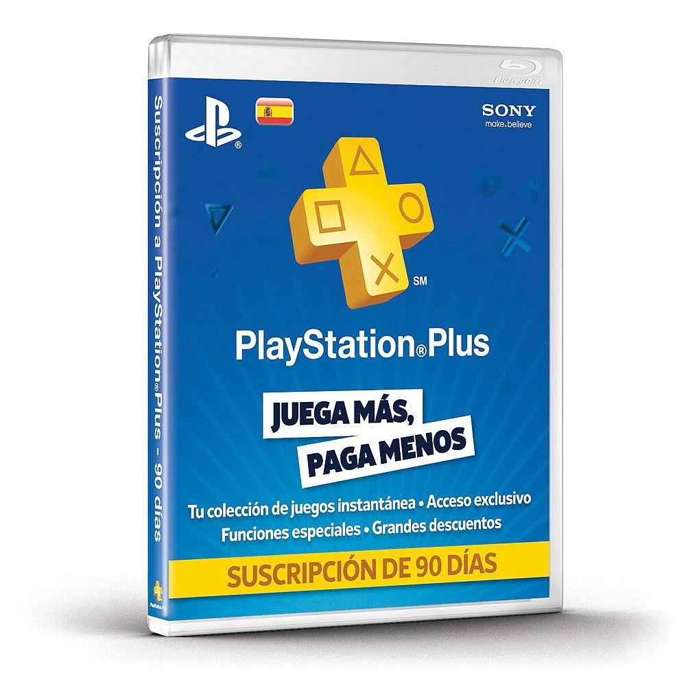 Suscripción de 90 días de PlayStation Plus