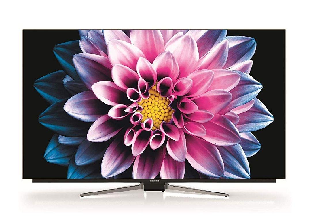 "TV 55"" OLED Grundig modelo 55 VLO 9895 BP con control de voz Alexa"