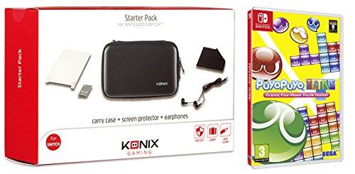 Juego Switch Puyo Puyo Tetris + Konix Starter Pack