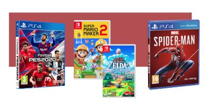 Muchos muchos juegos rebajados en la Web de El Corte Ingles.