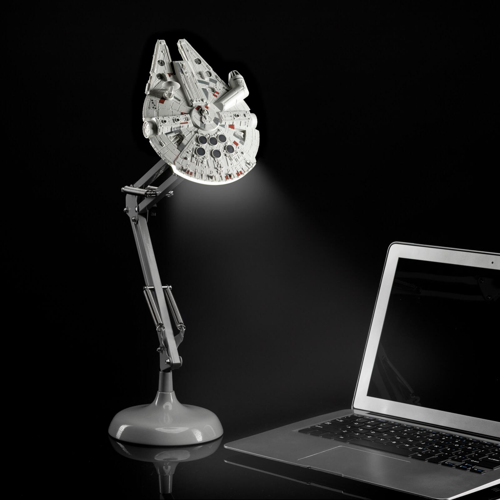 Lámpara de escritorio Halcón Milenario Star Wars