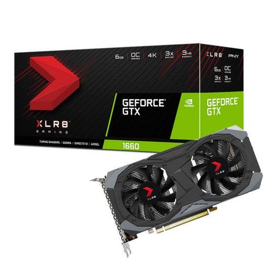 PNY GeForce GTX 1660 6GB GDDR5 XLR8 Gaming Overclocked Limited Edition