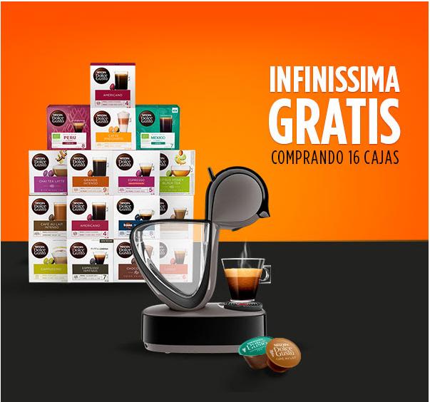 ¡INFINISSIMA GRATIS!(por la compra de 16 cajas)