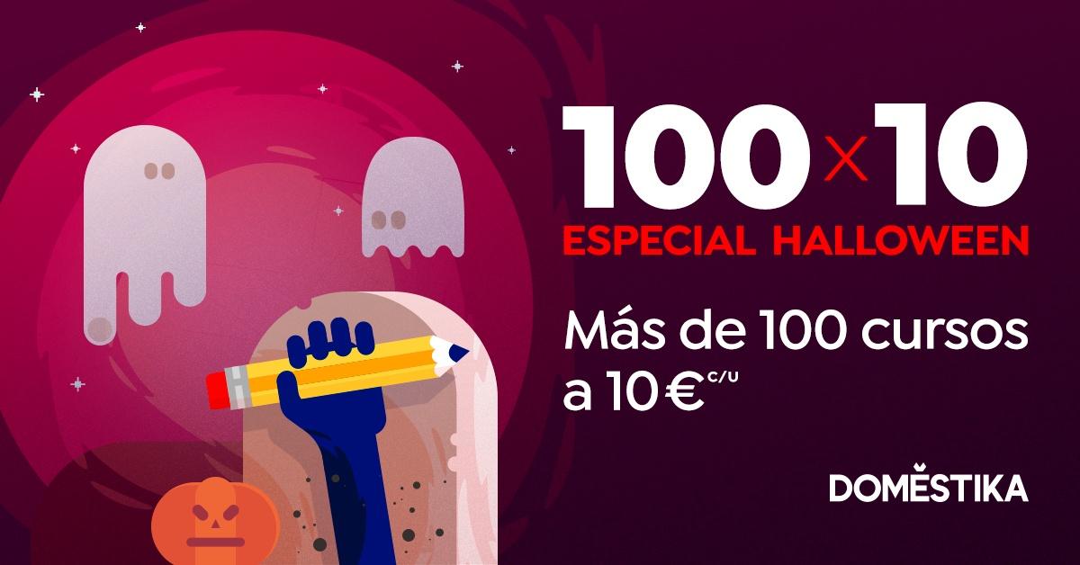 DOMESTIKA - 100 cursos rebajados a 10€
