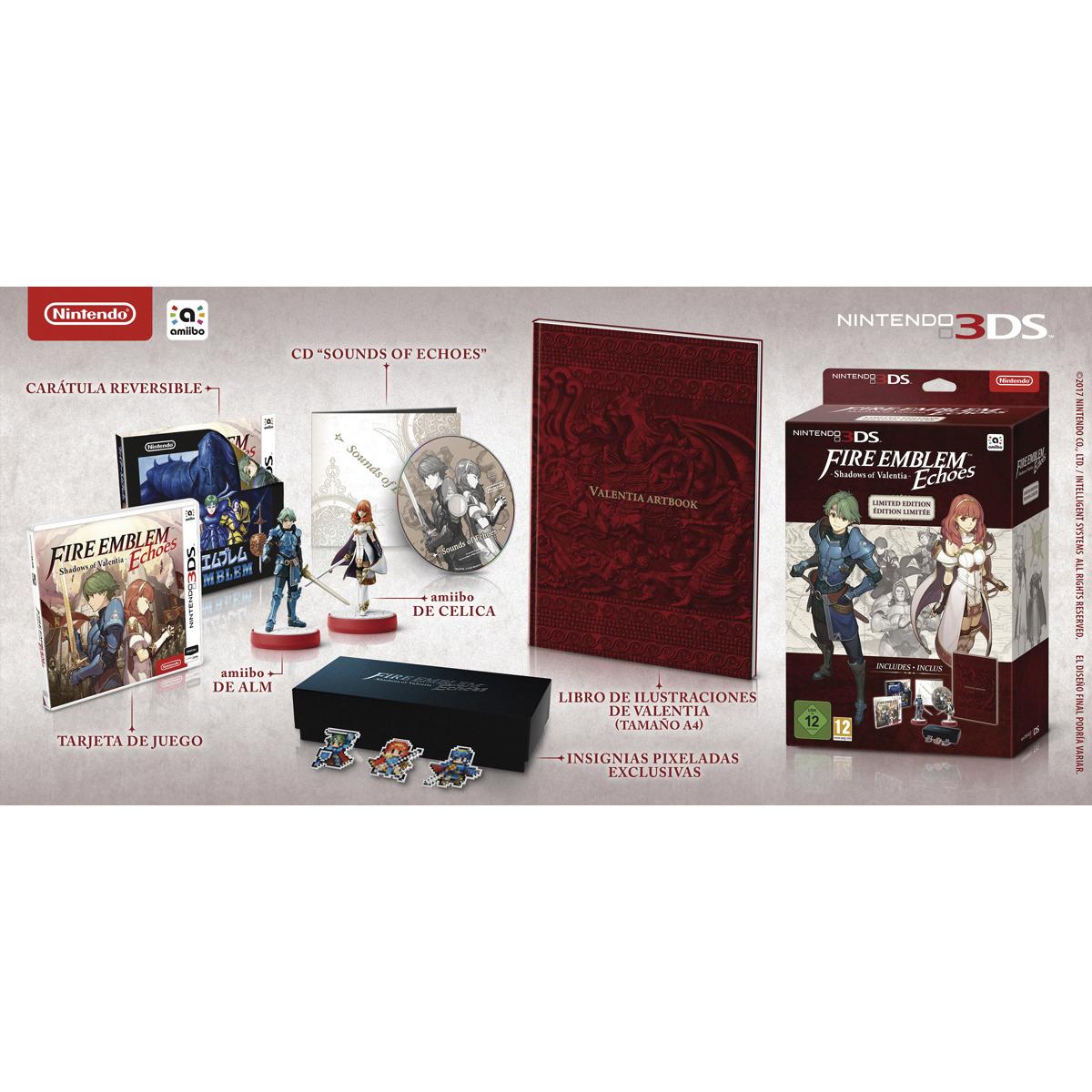 Fire Emblem Echoes 3ds Edición limitada