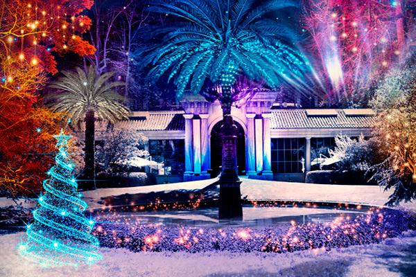 Real Jardín Botánico entrada GRATIS Evento Luces de Navidad Madrid