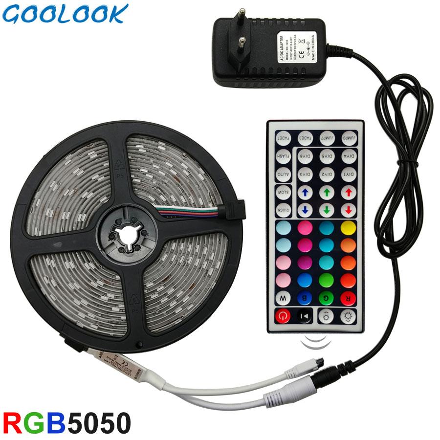 Tira de luz LED RGB 5050 5 metros