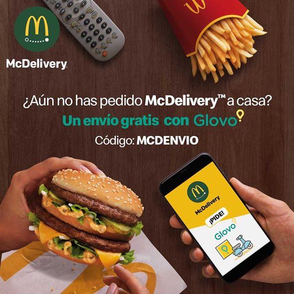 Envío Gratis en McDonald's con Glovo