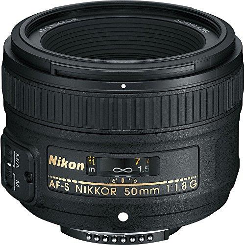 Objetivo Nikon AF-S NIKKOR 50mm f/1.8G Lens