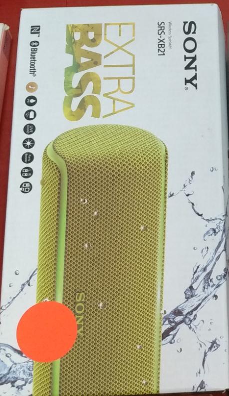 (SALDO) Altavoz Sony SRS-XB21