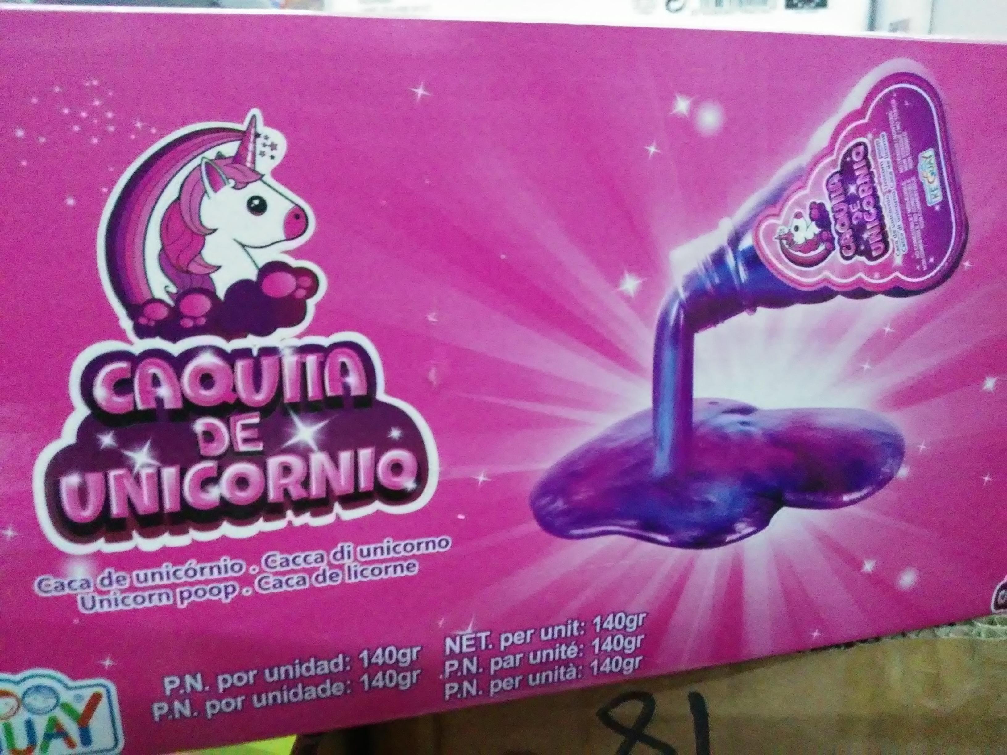 Caquita de unicornio (MegaHogar del Bazar el Moro de Petrer en Alicante)