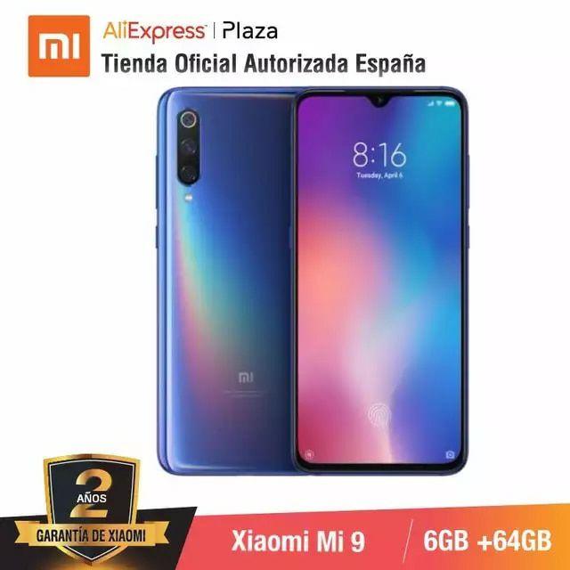Xiaomi Mi9 6/64gb (11.11 AliExpress PLAZA) tienda oficial , envío desde España