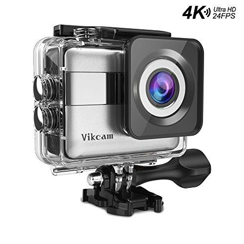 Cámara 4K WIFI Ultra HD +accesorios