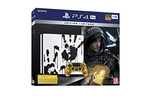 Consola PS4 PRO 1 TB + Juego Death Stranding Edición Limitada