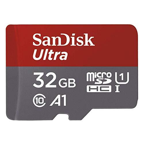 Tarjeta de memoria SanDisk Ultra de 32 GB hasta 98 MB/s por 5,90 € (PRODUCTO PLUS)