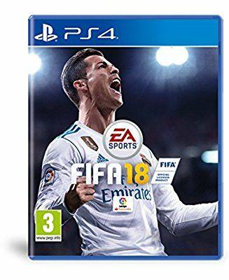 Videojuego FIFA 18 para PS4