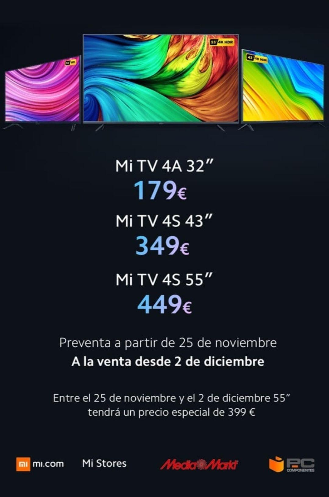 Televisor Xiaomi 4S