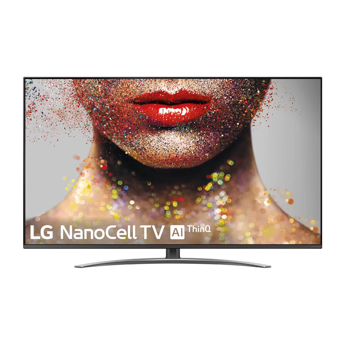 "TV LED 139 cm (55"") LG 55SM8200 NanoCell 4K, HDR Smart TV con Inteligencia Artificial (IA)"