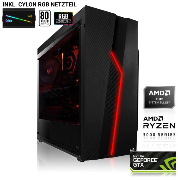 GAMING PC AMD Ryzen 5 3600 6x3.60GHz | 16GB DDR4 | RX 590 8GB | 240GB SSD