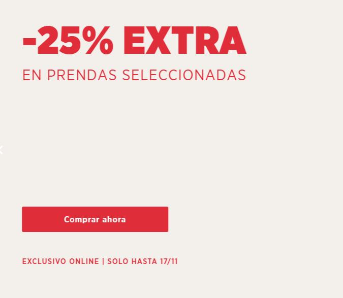 -25% extra en ropa de mujer en Mango Outlet