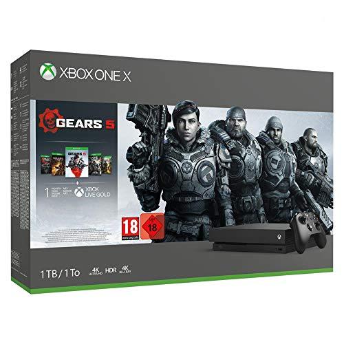 Xbox One X Gears 5 solo 277€