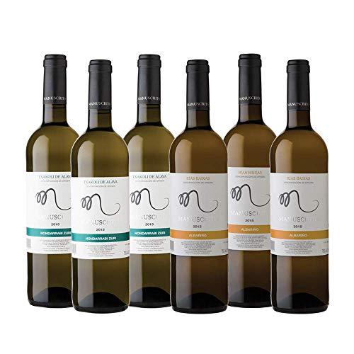 Selección de Vinos Manuscrito al 60% y al 40%