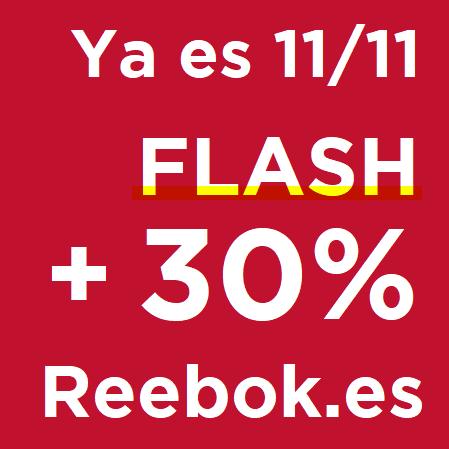11/11 en REEBOK: Ofertas Flash + 30% EXTRA