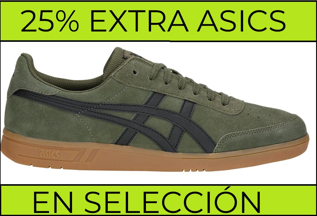 25% EXTRA en selección de calzado Asics