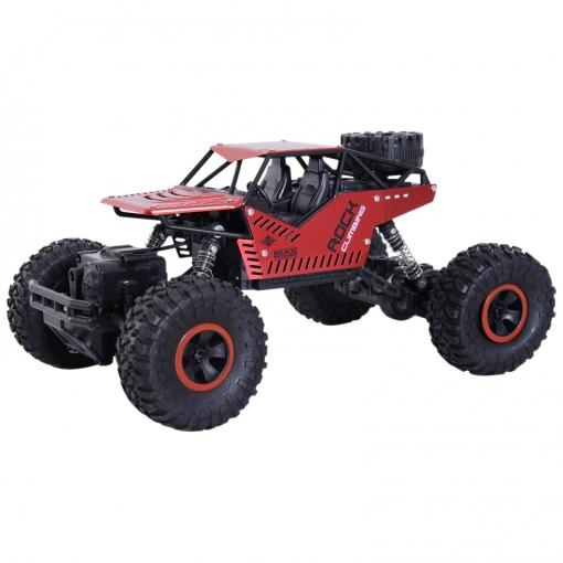 Rc Coche Crawler Todoterreno 4x4 2.4ghz 1:16 20km/h rojo