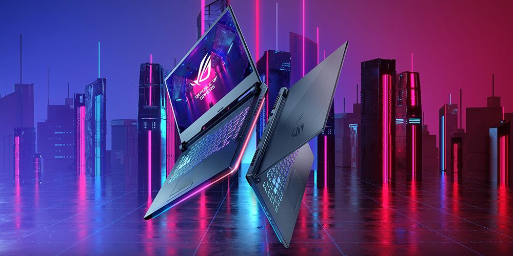 ROG Strix G531GU-AL003 / i7-9750H / GeForce GTX1660Ti / 8GB RAM / 512GB / 120Hz