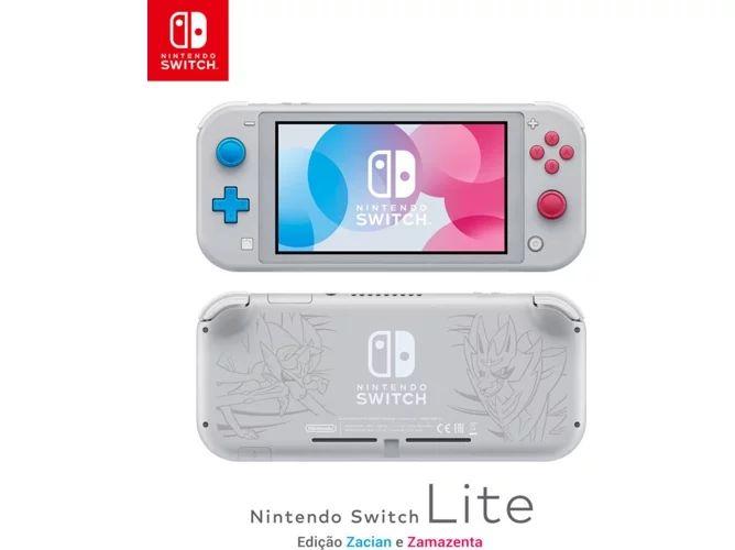 Consola Nintendo Switch Lite Edición Zacian y Zamazenta