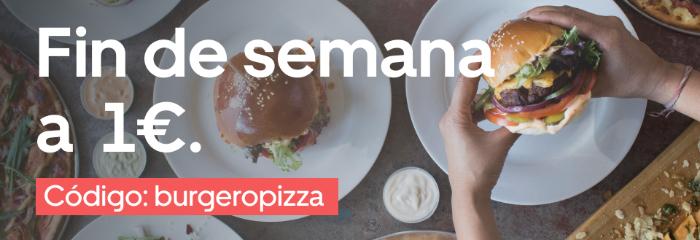 Fin de semana a 1€ en Valencia por Uber Eats