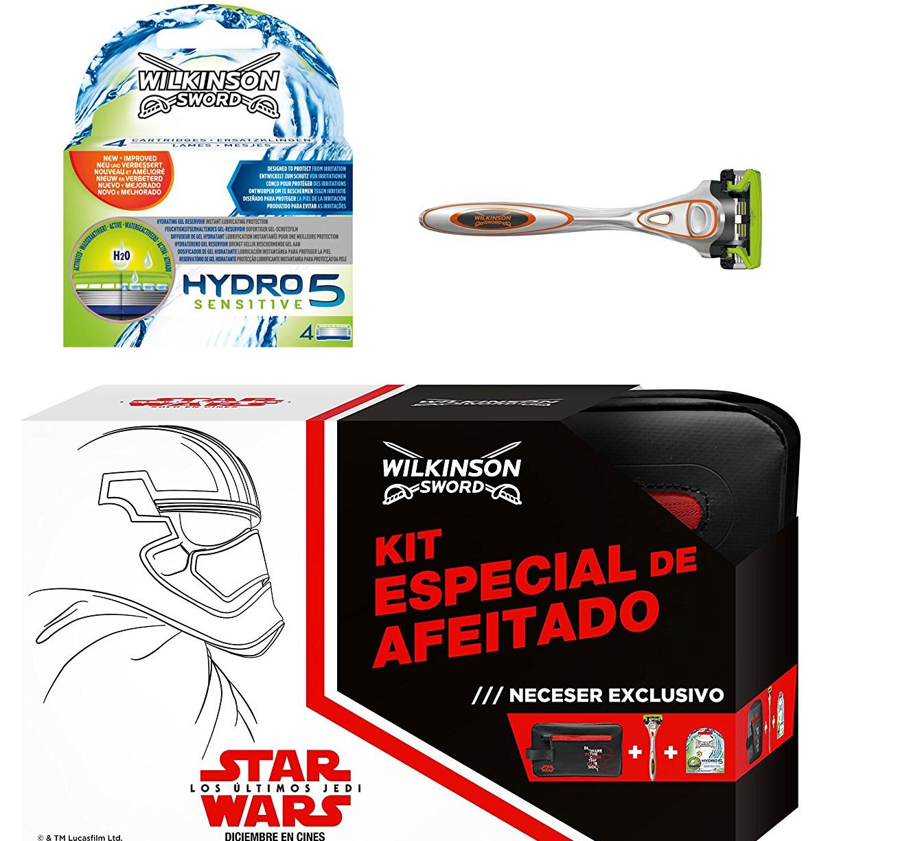 Set afeitado Wilkinson Star Wars solo 12.9€